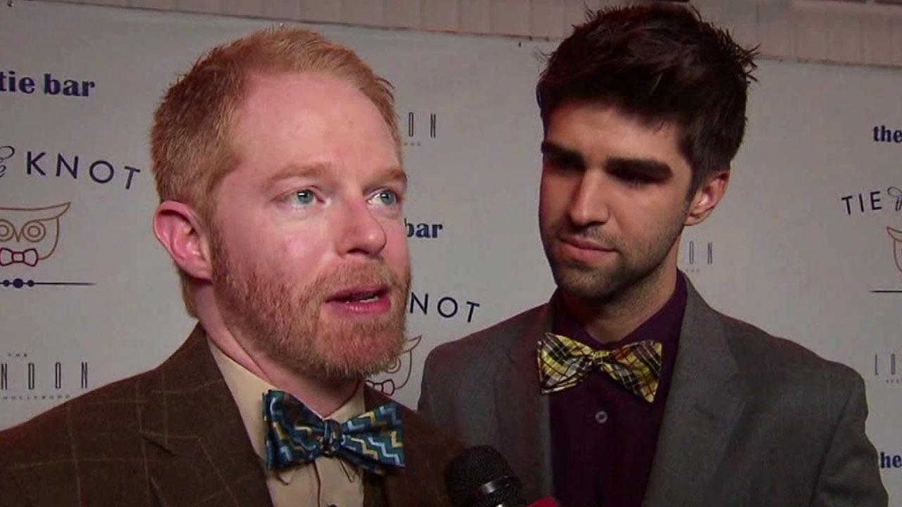 Jesse Tyler Ferguson and Jesse Mikita are seen in this undated file photo.
