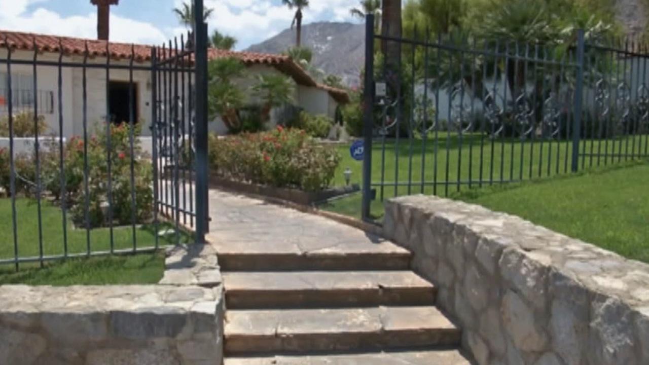 Elvis Presleys Palm Springs home is seen in this undated file photo.