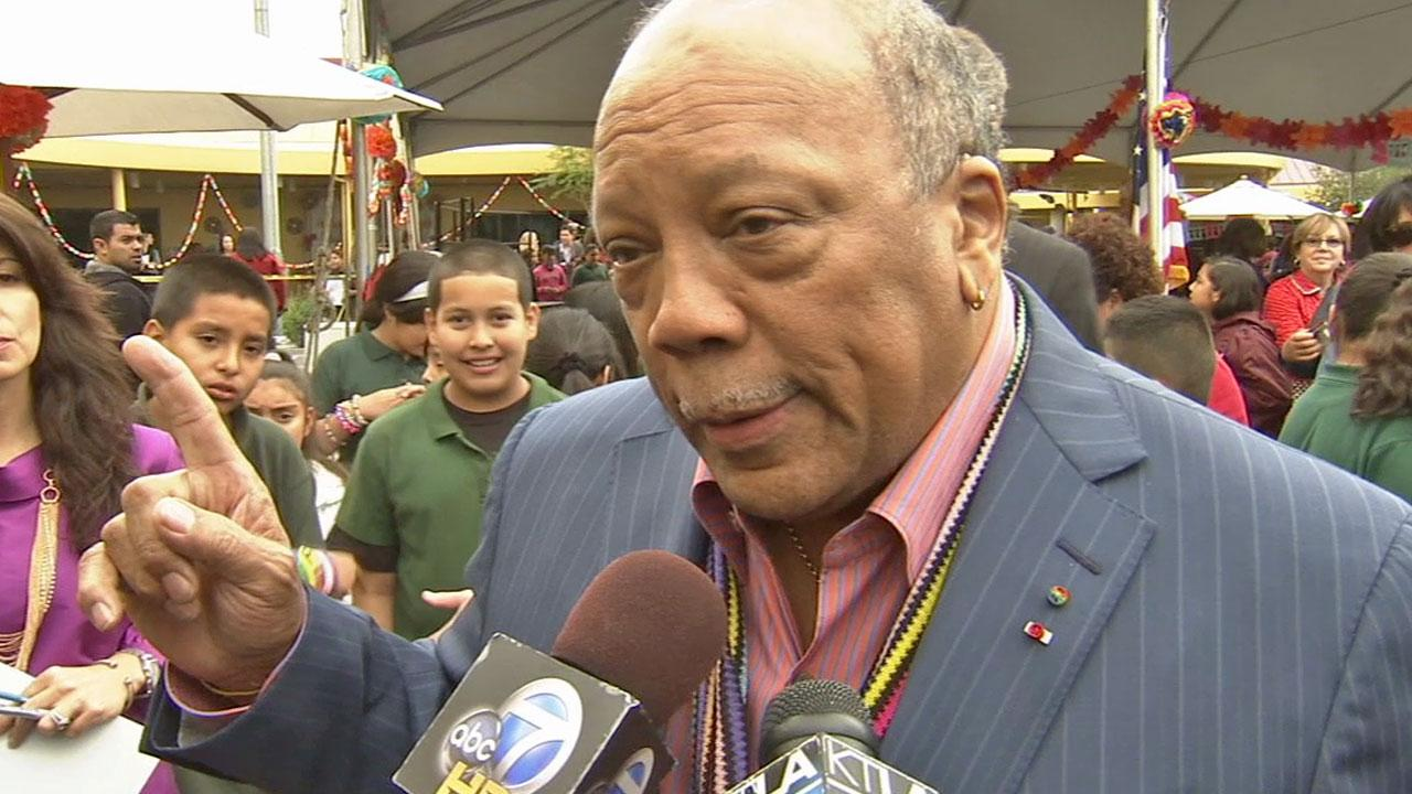 Quincy Jones is shown in this undated file photo.