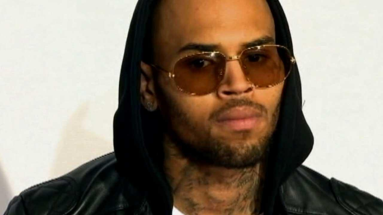Chris Brown is seen in this undated file photo.