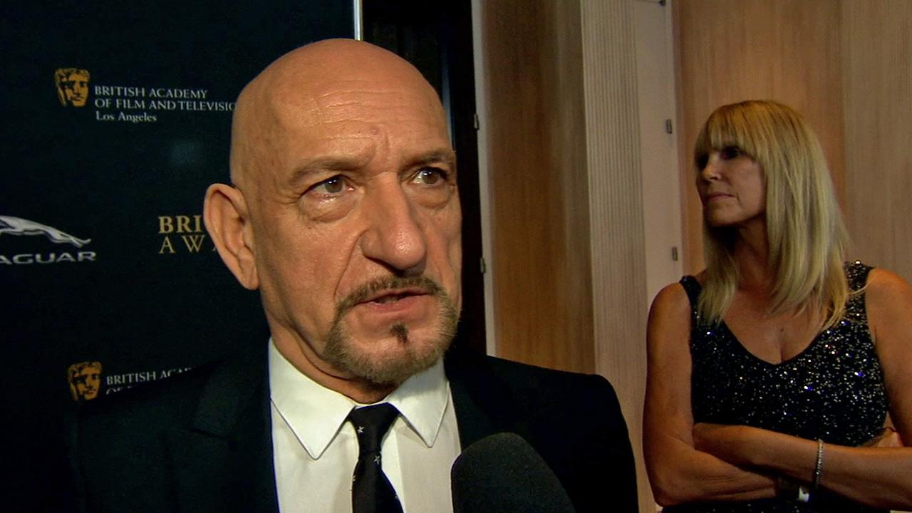Sir Ben Kingsley is seen at the British Academy of Film and Television Arts Los Angeles Britannia Awards in Beverly Hills on Saturday, Nov. 9, 2013.