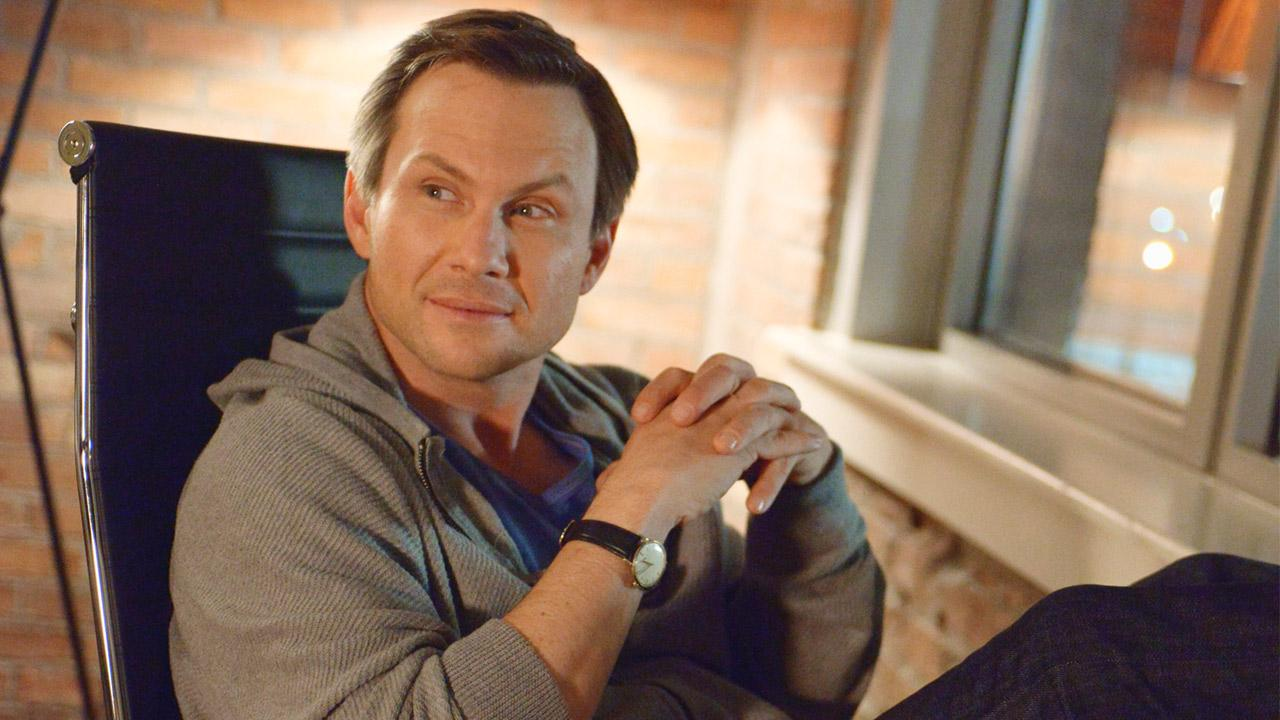 Christian Slater appears in a scene from the ABC drama, Mind Games.