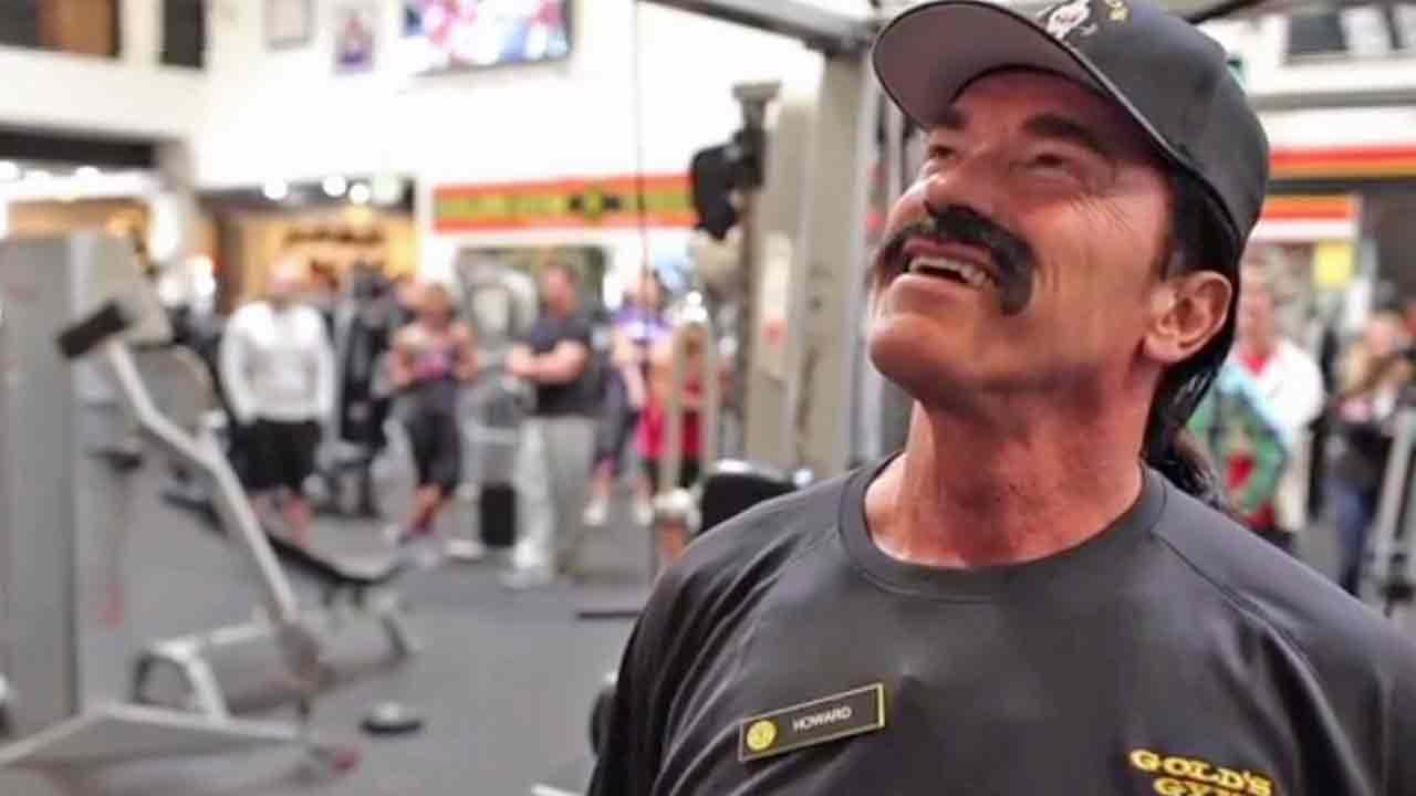Arnold Schwarzenegger went undercover at a Golds Gym in Venice, Calif. in an effort to raise money for his after-school program.