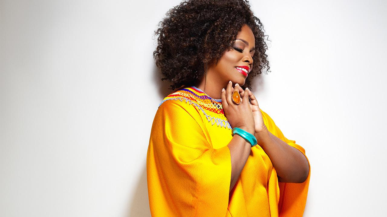 Singer Dianne Reeves, seen in an undated photo, will be performing at the 2014 Playboy Jazz Festival in June.