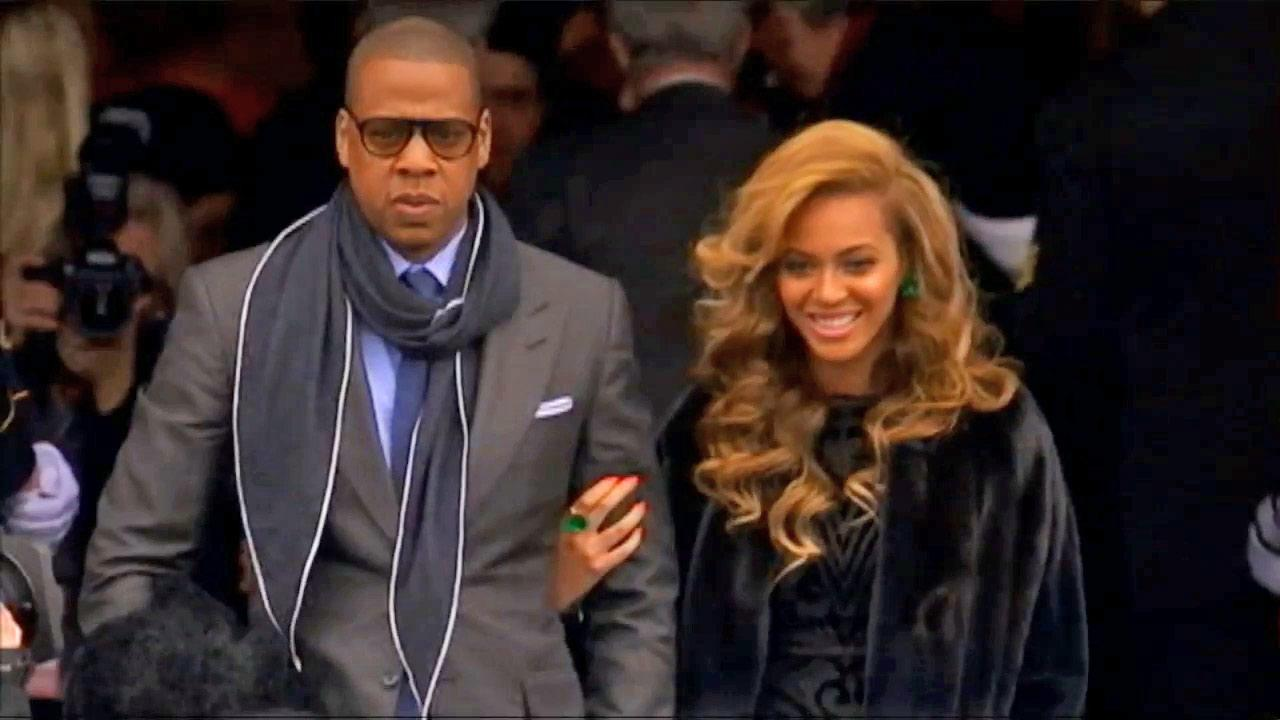 Jay Z and Beyonce are seen in this undated file photo.