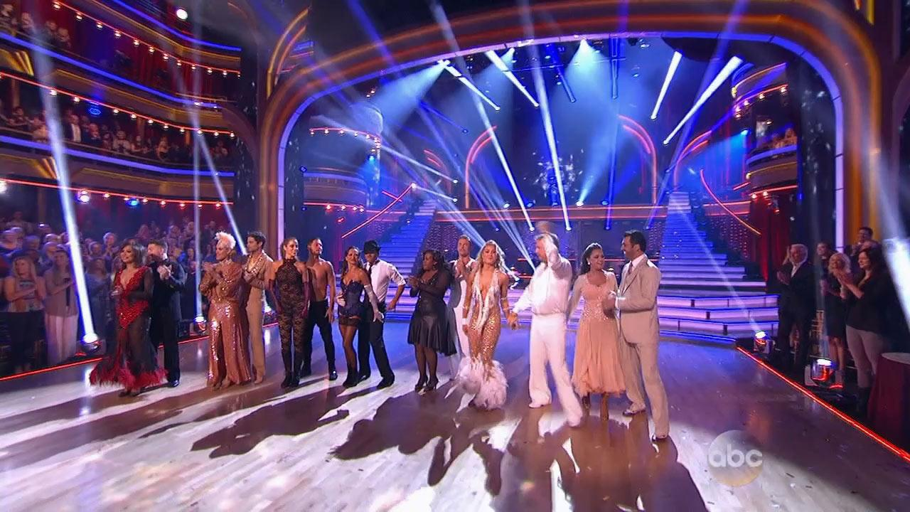 Dancing With The Stars contestants are seen on Monday, Nov. 4, 2013.