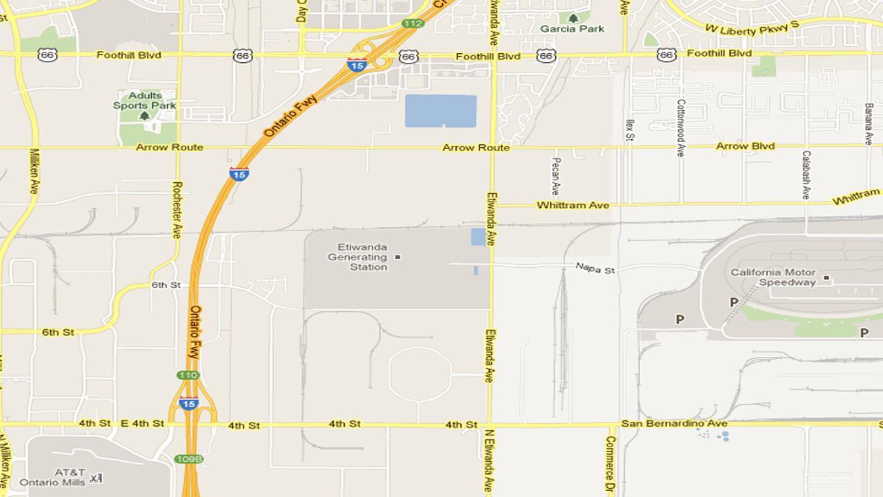 Rancho Cucamonga map