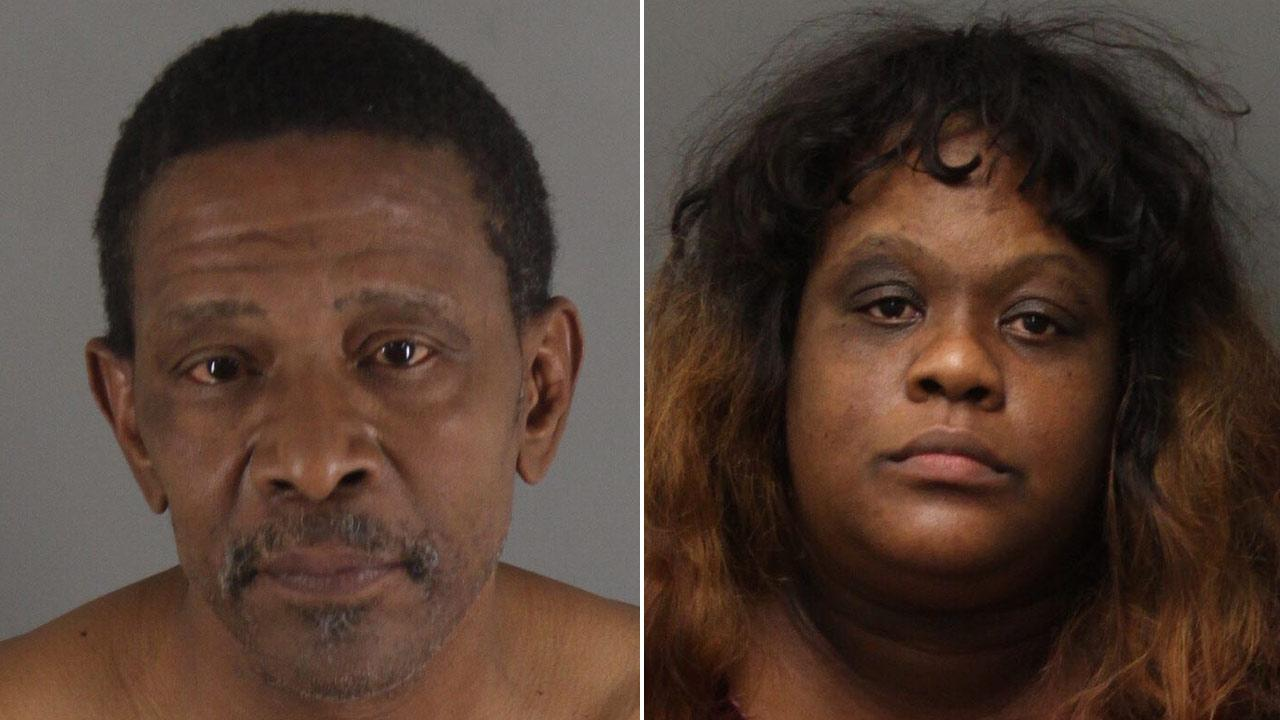 Gregory and LaQuron Lacy are shown in booking photos provided by the Riverside County Sheriffs Department.