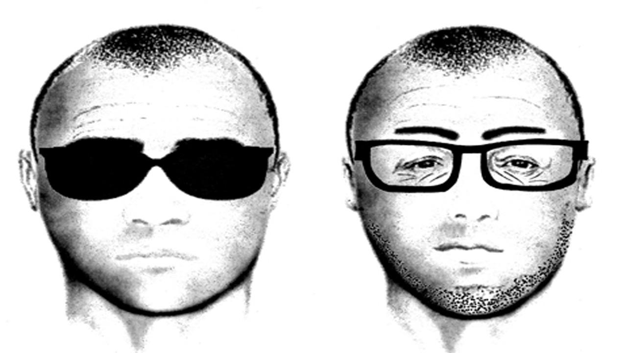 Police released a sketch of a suspect who tried to lure two females into his minivan on separate occasions in Moreno Valley on Wednesday, Oct. 31, 2012.