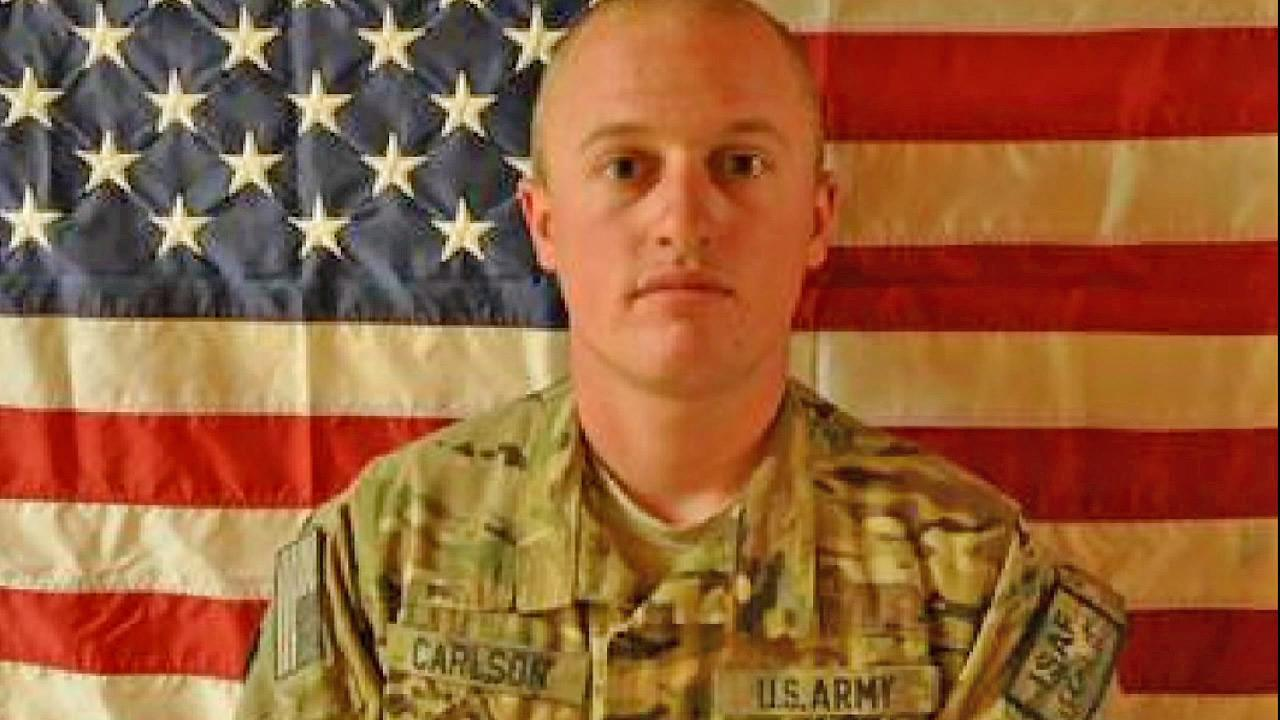 Army Specialist Daniel Carlson, of Running Springs, is seen in this undated file photo. He died in his first deployment to Afghanistan on Friday, Nov. 9, 2012.