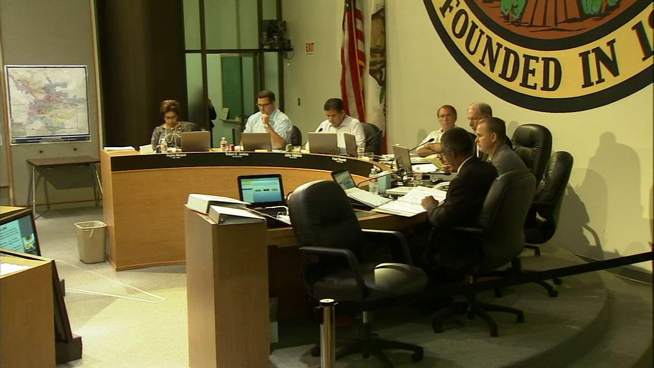 The San Bernardino City Council approved a plan to slash more than $26 million from the city budget on Monday, Nov. 27, 2012.