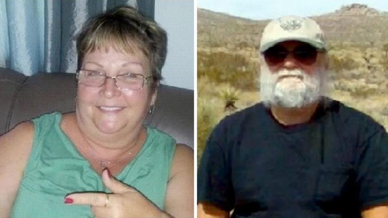 In this undated file photo, Helen Melnyk (left) and her longtime friend, Anatoly Tony Nosow, went missing at Joshua Tree National Park on Saturday, Nov. 24, 2012.