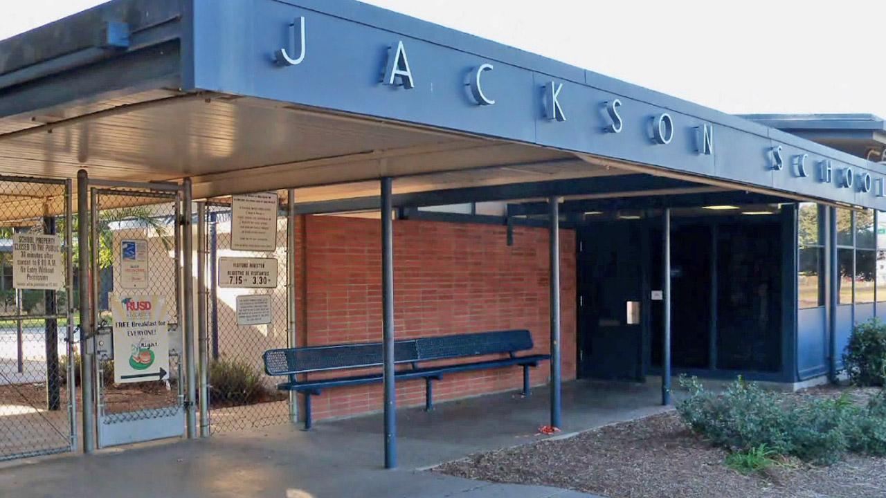Andrew Jackson Elementary School in Riverside is shown in this file photo.