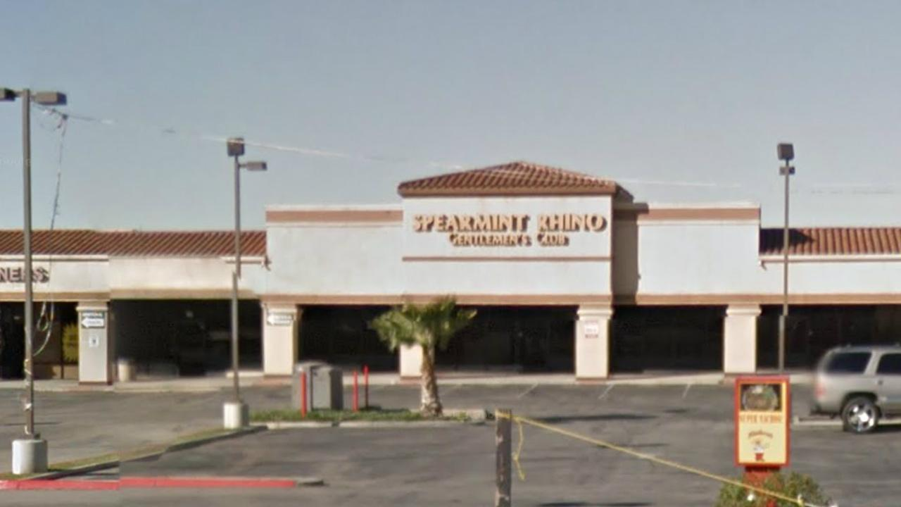The exterior of Spearmint Rhino Club is seen in this image from Google Maps.
