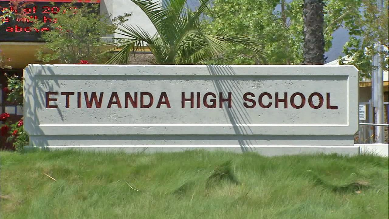 Etiwanda High School is seen in this file photo.