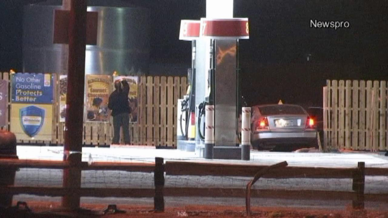 A man is dead after a chase on Interstate 15 ended just outside the Nevada state line on Tuesday, May 28, 2013.