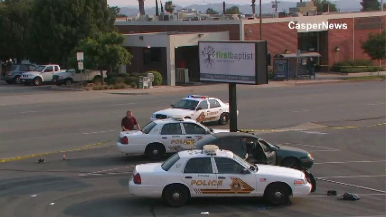 Merlin Factor, 25, was shot and killed in a deputy-involved shooting near Yucaipa Boulevard and 3rd Street in Yucaipa Saturday, June 29, 2013.