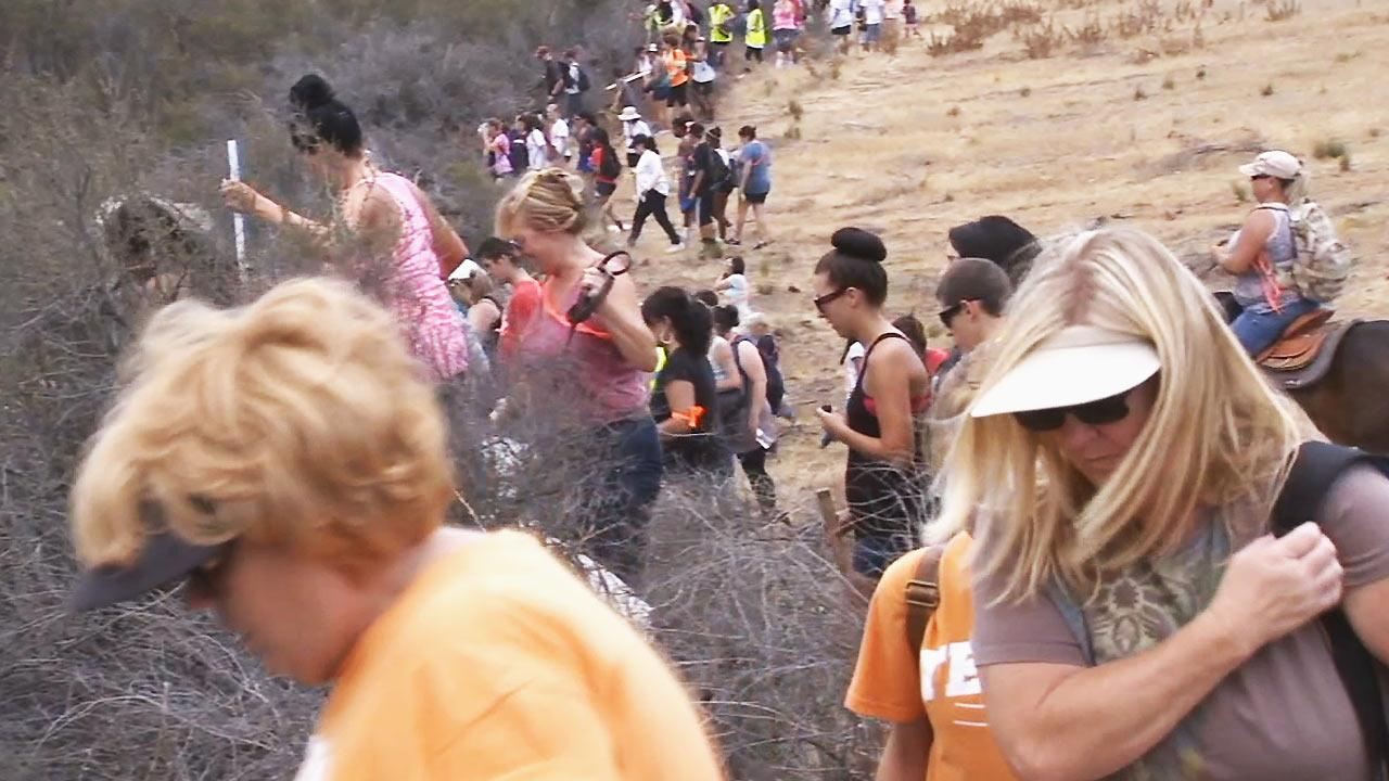 Menifee missing boy: Hundreds continue to search