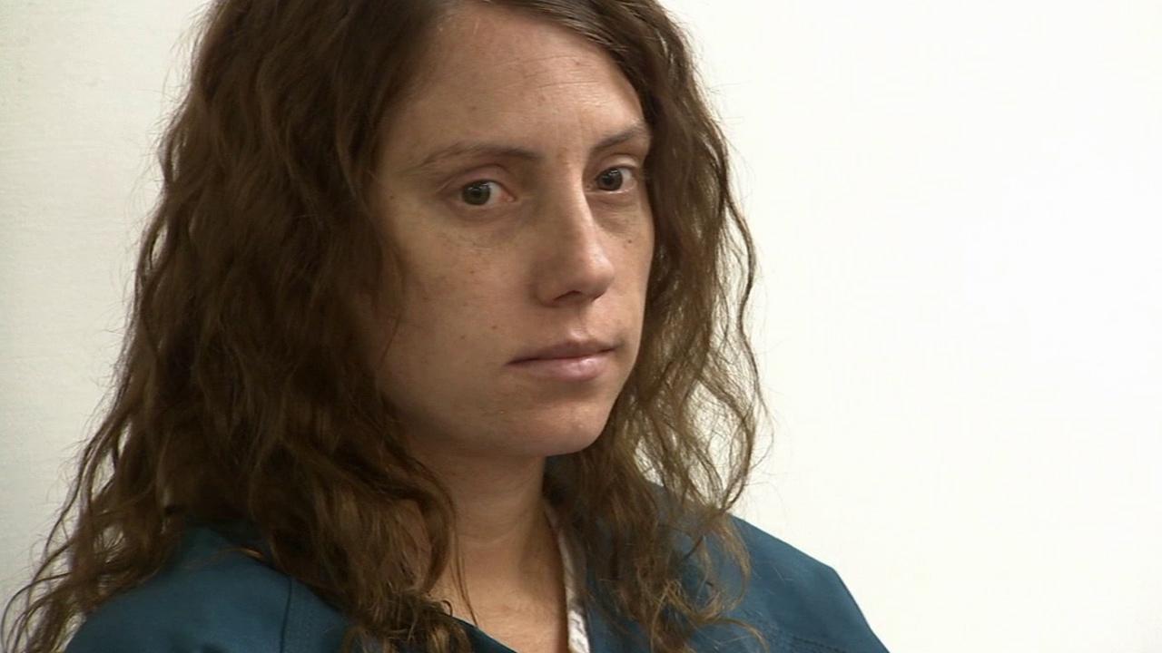 Laura Whitehurst, 28, appears in a San Bernardino courtroom on Wednesday, July 31, 2013.