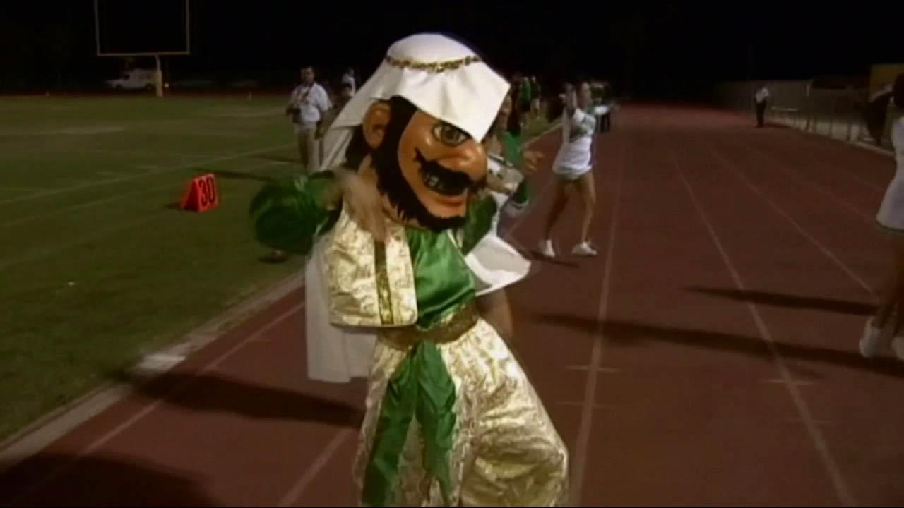 Coachella Valley High Schools Arab mascot is drawing opposition from a group that calls the caricature offensive.