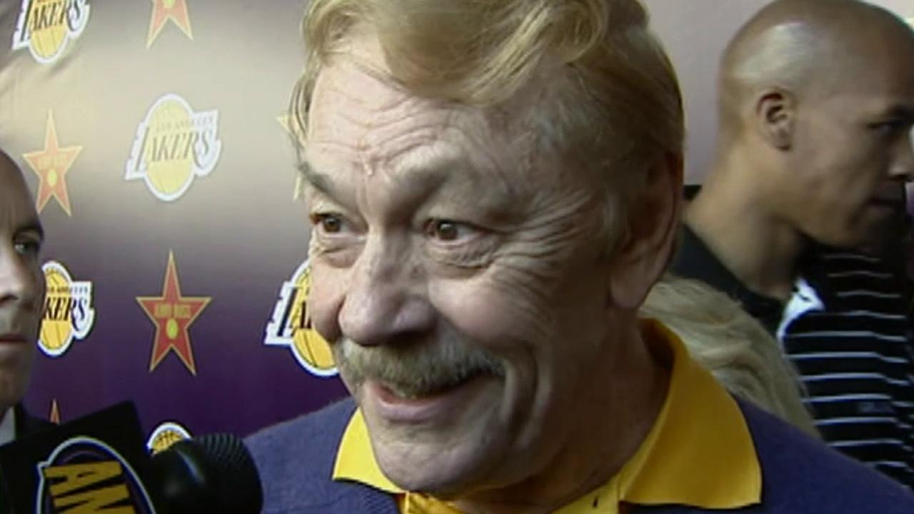 Jerry Buss is seen in this undated file photo.