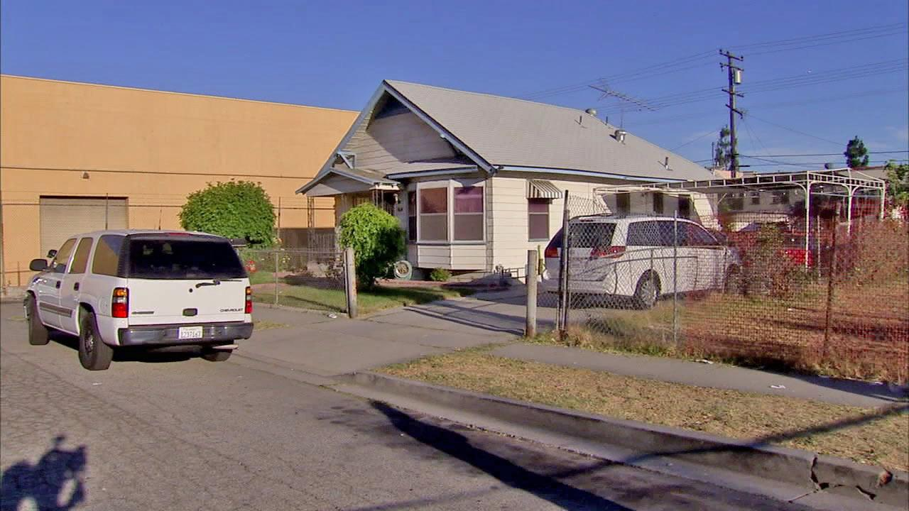 A home in the 2600 block of 56th Street near Pacific Avenue is shown in this photo taken Tuesday, July 17, 2012. A man and woman at the home were reportedly involved in murder-suicide.
