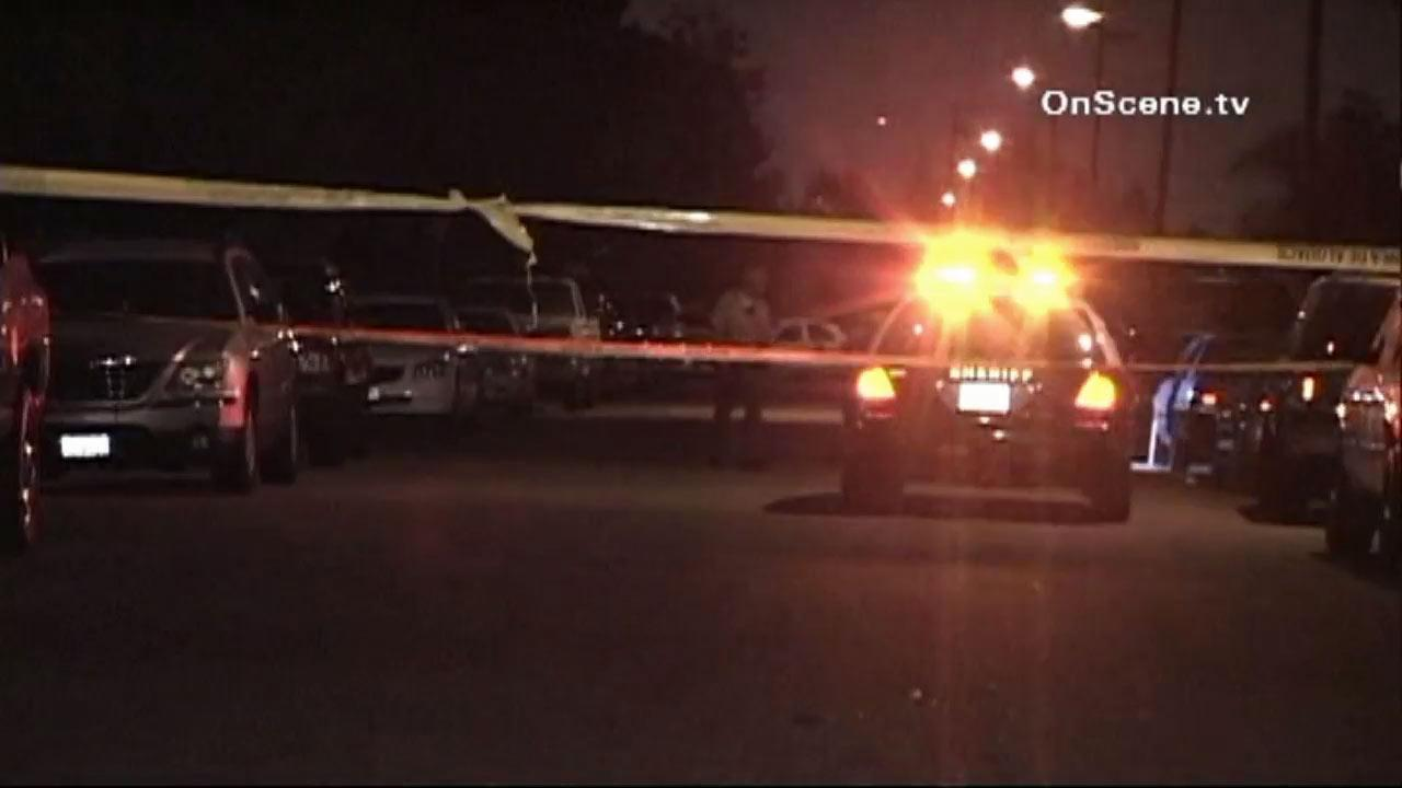 L.A. County Sheriffs deputies found a man fatally shot in Artesia just before 2 a.m. Thursday, August 2, 2012.