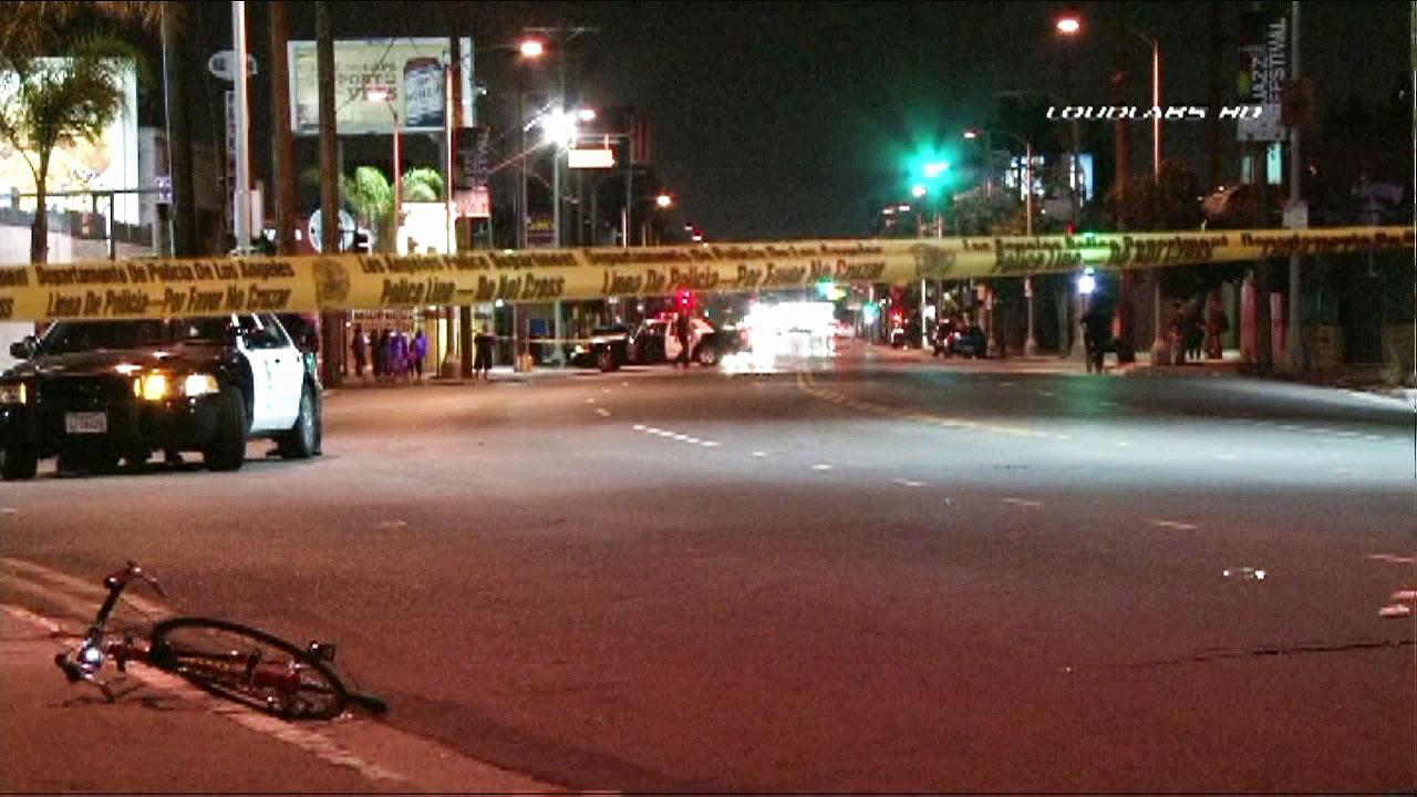 A bicyclist was struck and injured by a pickup truck about 9 p.m. Sunday, Aug. 5, 2012, on 32nd Street near Central Avenue.  The driver fled the scene in the vehicle.