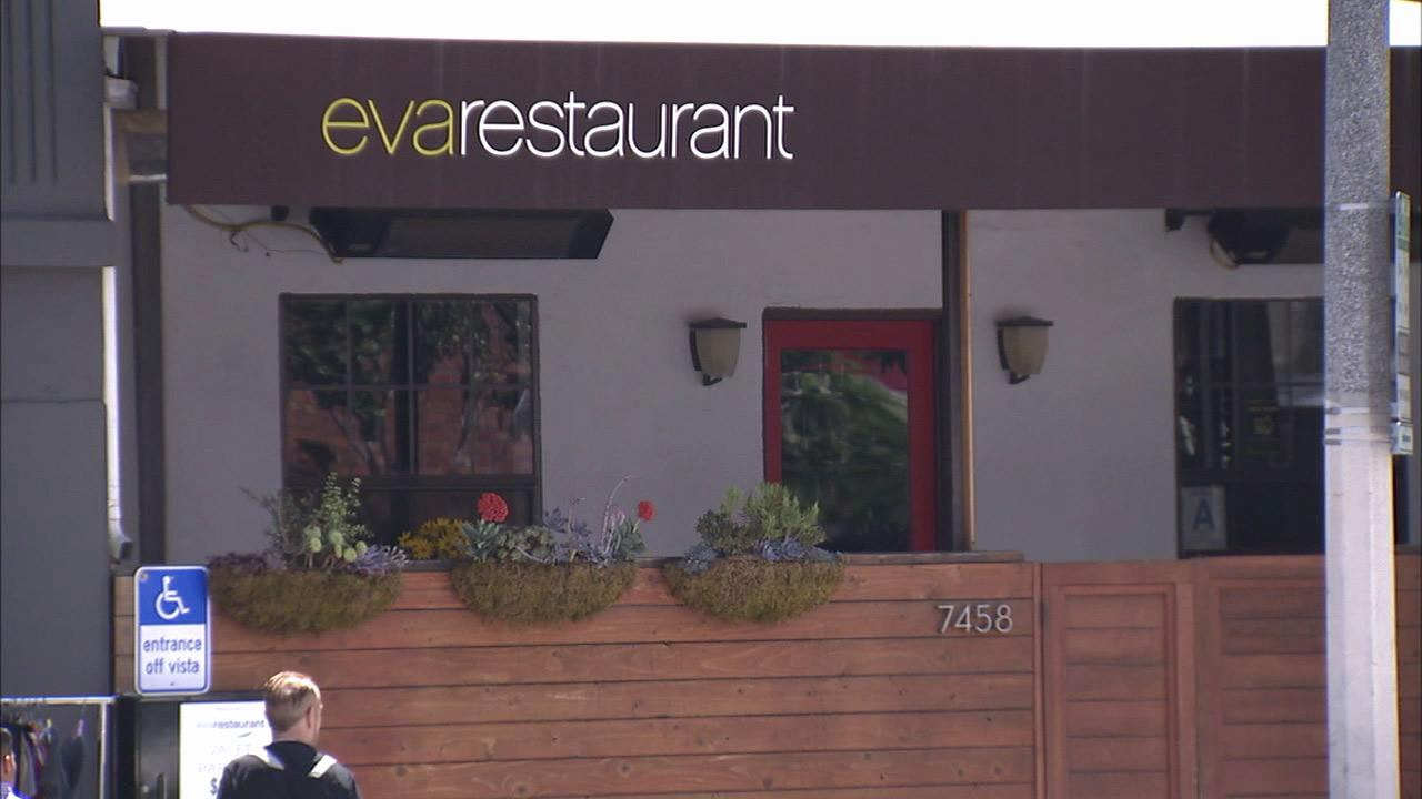 Eva Restaurant in Los Angeles is seen in this undated photo.