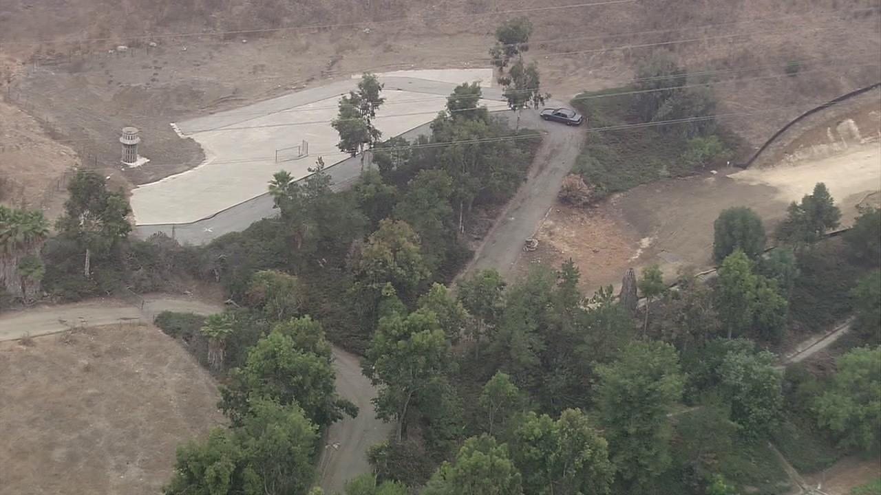 Authorities said Friday, Aug. 24, 2012, that they found a marijuana growing operation in the hills above Pathfinder Regional Community Park in Rowland Heights.