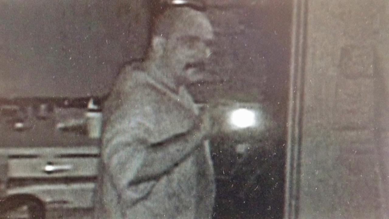 A suspect involved in a furniture store burglary in Tarzana is shown in a surveillance image taken Friday, Aug. 31, 2012.
