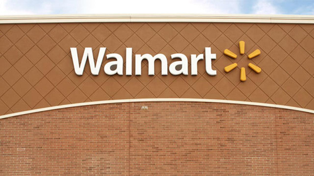 A Wal-Mart store sign is shown in this undated file photo.
