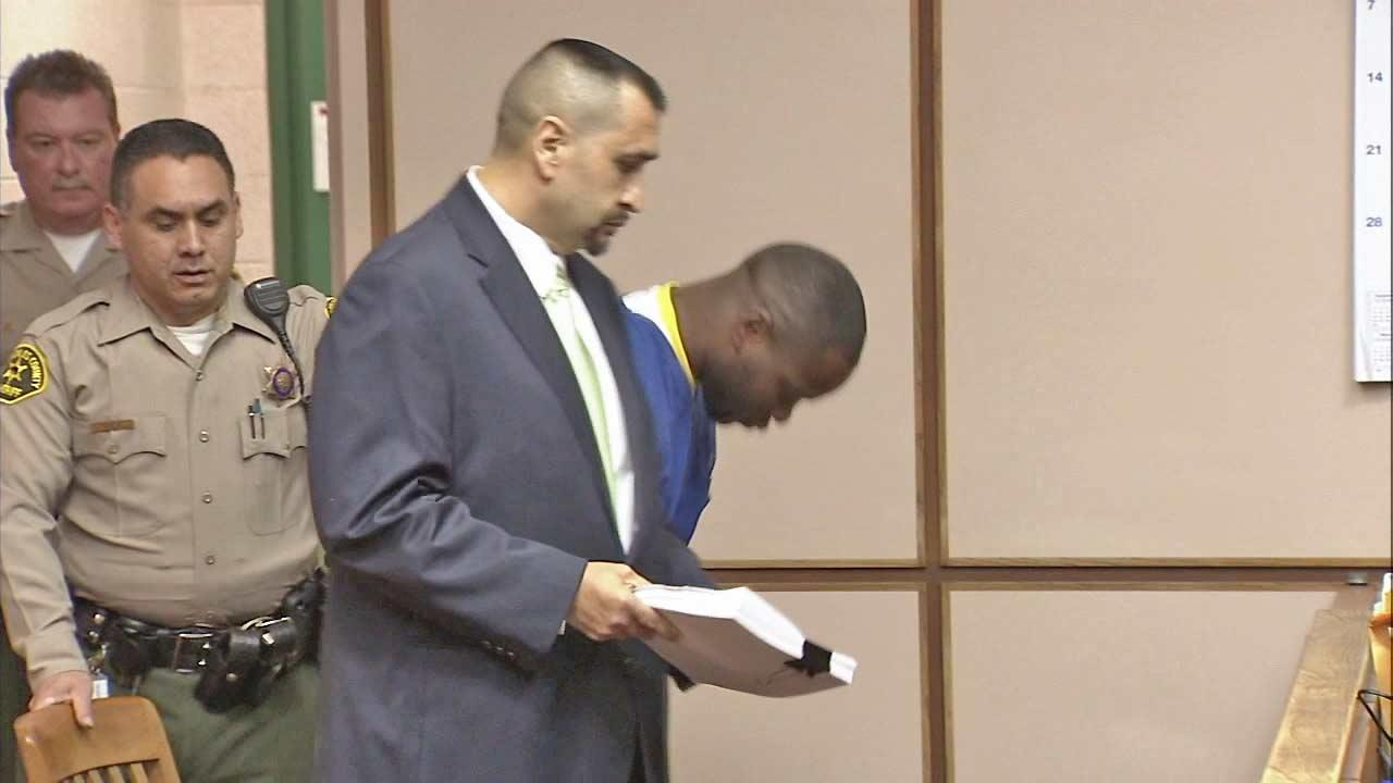 Jade Douglas Harris appears in court on Monday, Oct. 29, 2012, in this file photo.