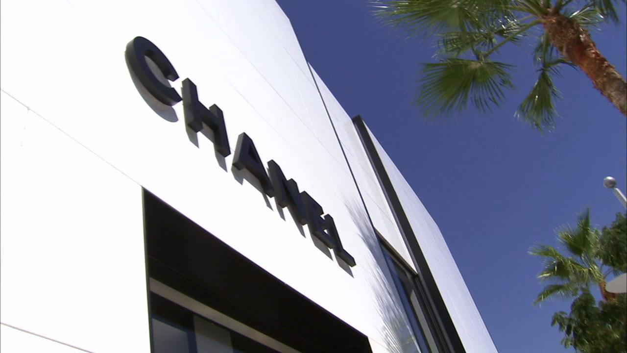 The Chanel store located in the 400 block of North Rodeo Drive in this Nov. 11, 2012 photo.
