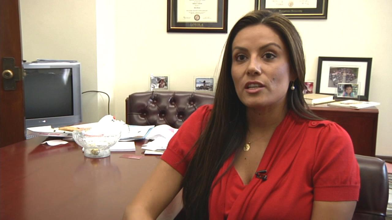 Andrea Alarcon is seen in this undated file photo.
