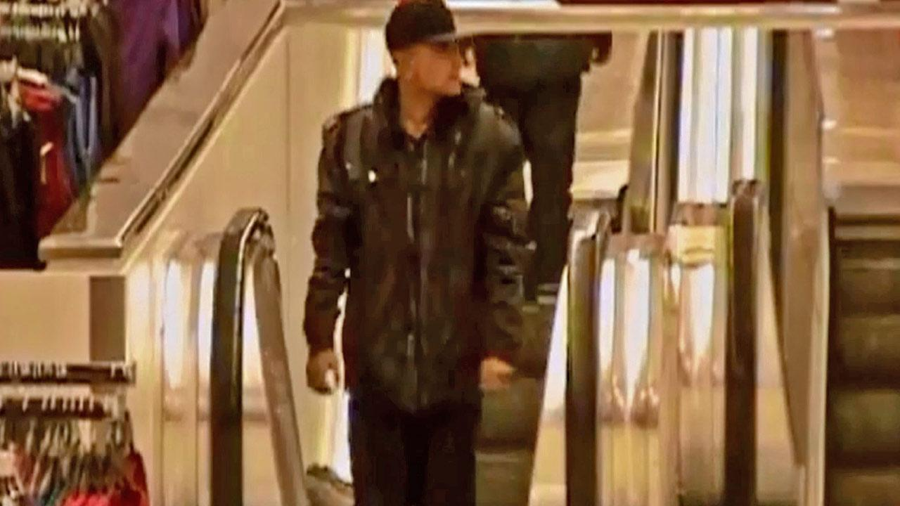 The publics help is needed to identify a department store robbery suspect who threatened employees with a knife at a Sears in Downtown Los Angeles on Tuesday, Nov. 13, 2012.