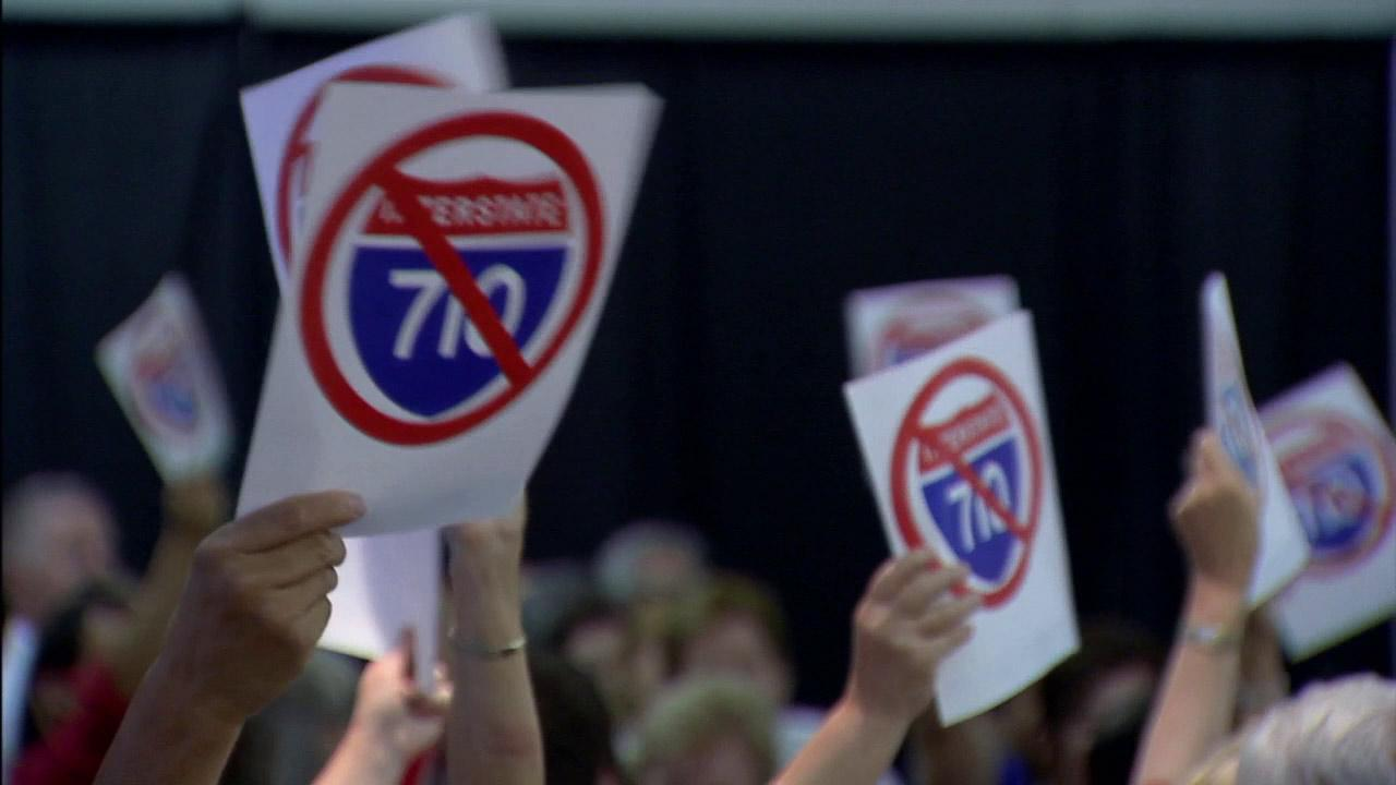 A 710 Freeway expansion plan is in the works to relief traffic congestion in Pasadena, but some residents oppose the plan.