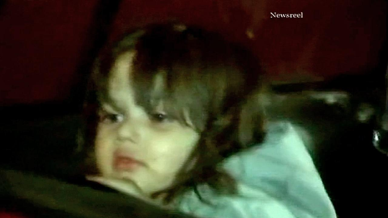 A young girl, shown above, was reunited with her family after a driver spotted her wandering around barefoot along a Reseda street on Friday, Dec. 21, 2012.