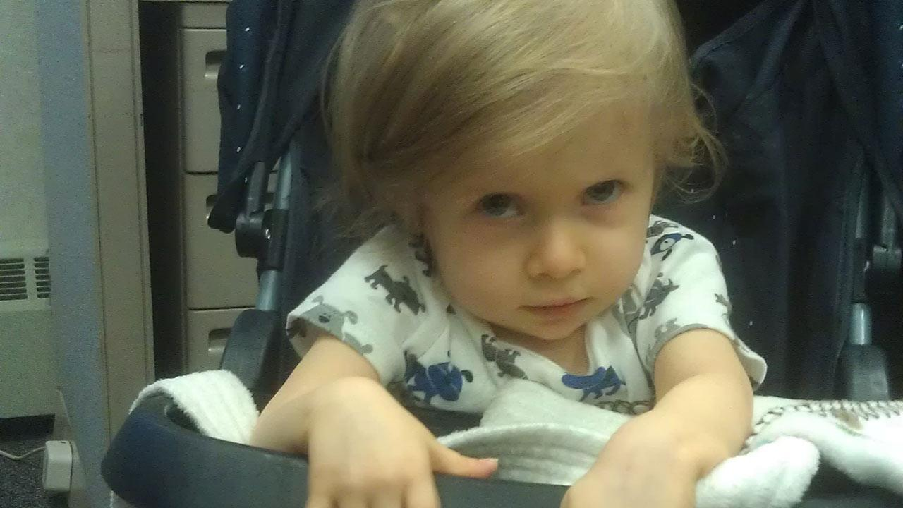 Alouette Day-Moreno-Baltierra, was found by University of Kentucky police on Thursday, Dec. 27, 2012. The 17-month-old toddler was reported missing from Los Angeles on Oct. 15, 2012.