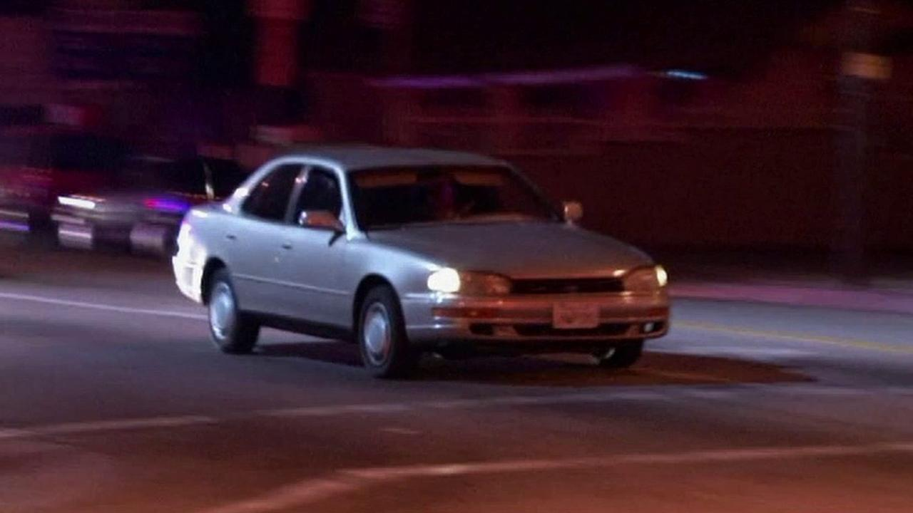 A 17-year-old driver led police on a pursuit through Inglewood on Sunday, Jan. 13, 2013.