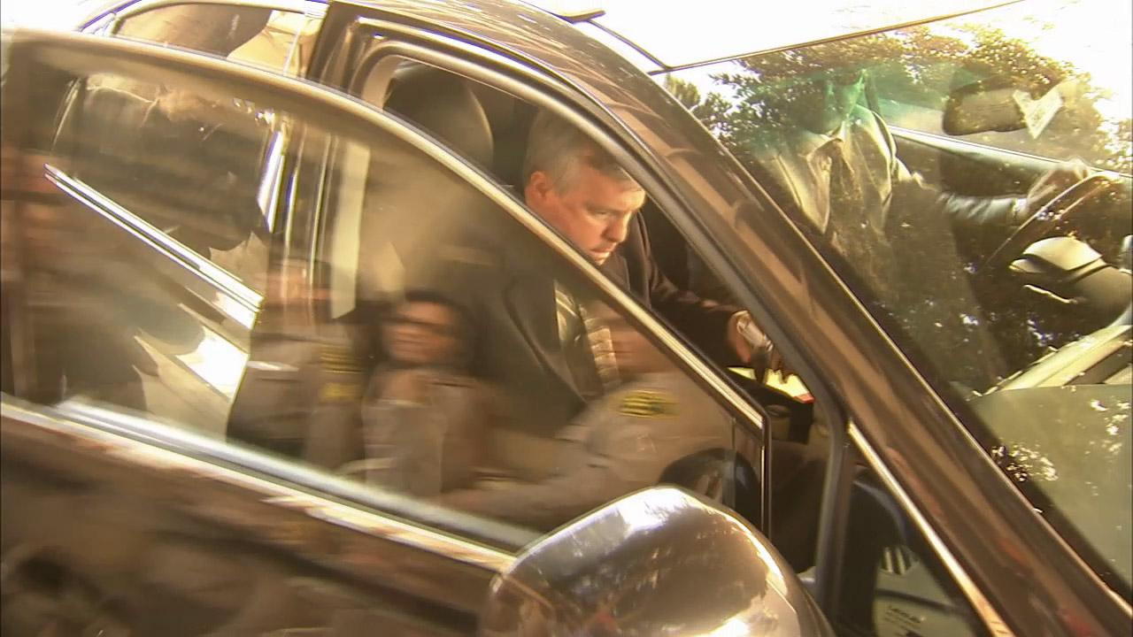 Former Miramonte Elementary School teacher Martin Springer is seen getting into a car in this undated file photo.