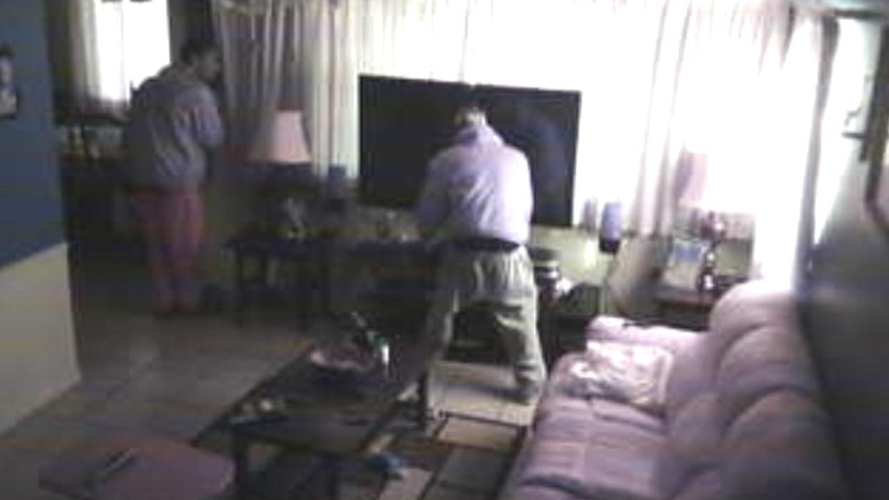 Authorities released a photograph taken from a surveillance video during a burglary at a residence on the 38000 block of East 20th Street in Palmdale on Wednesday, Jan. 16, 2013.