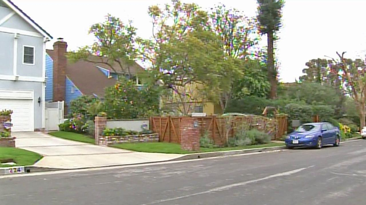 A Brentwood neighborhood is shown in this undated file photo.