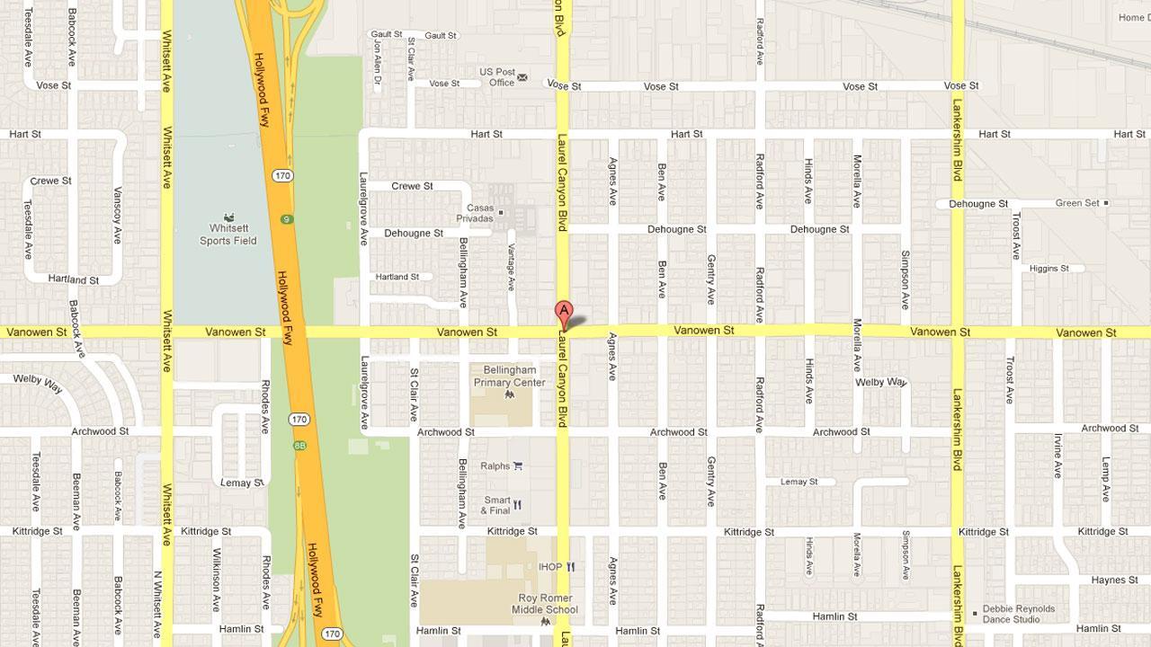 12100 block of Vanowen Street, North Hollywood