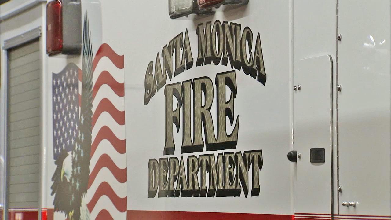 Santa Monica donates vehicles to Hurricane Sandy-hit fire departments