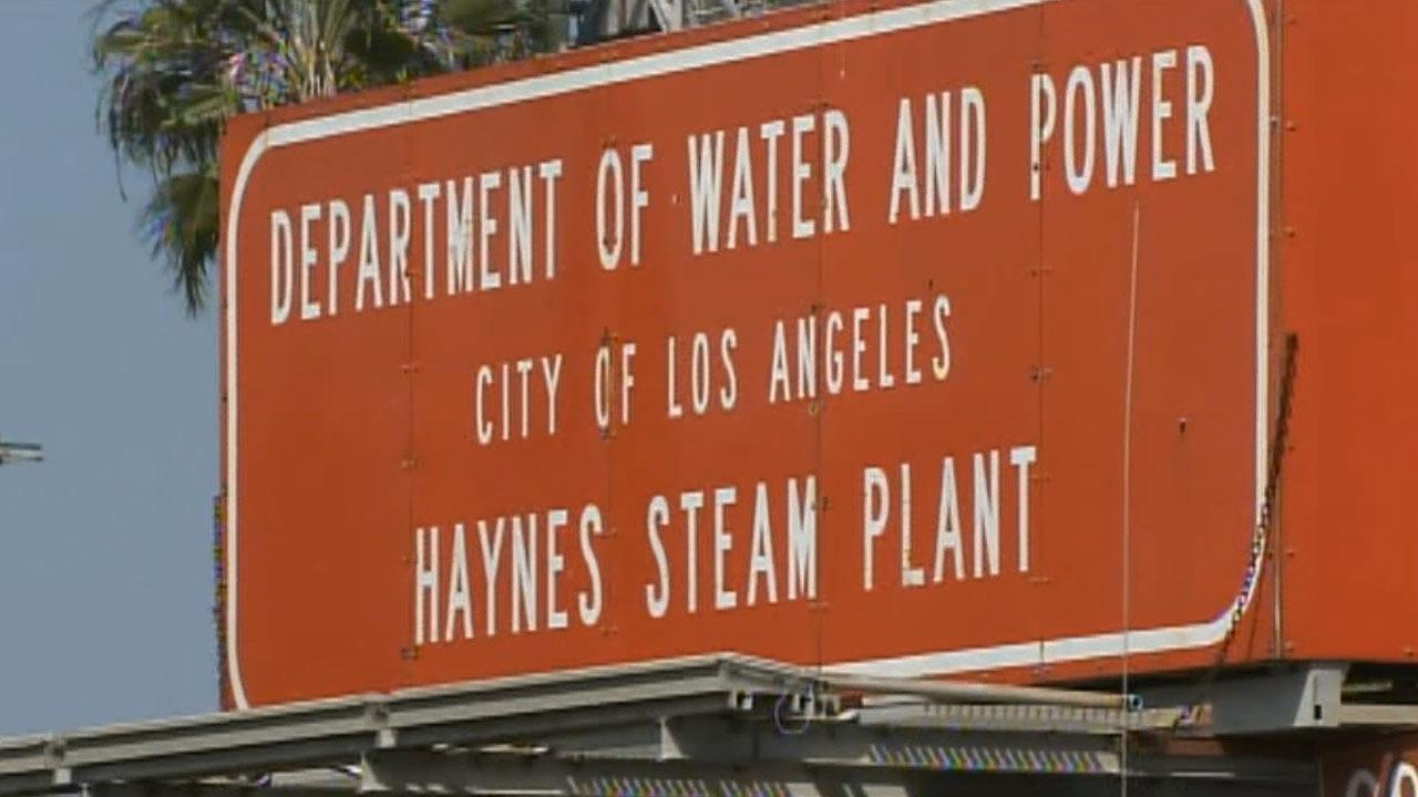 A Los Angeles Department of Water & Power employee was found dead at the Haynes Generating Station in Long Beach Saturday, March 23, 2013.
