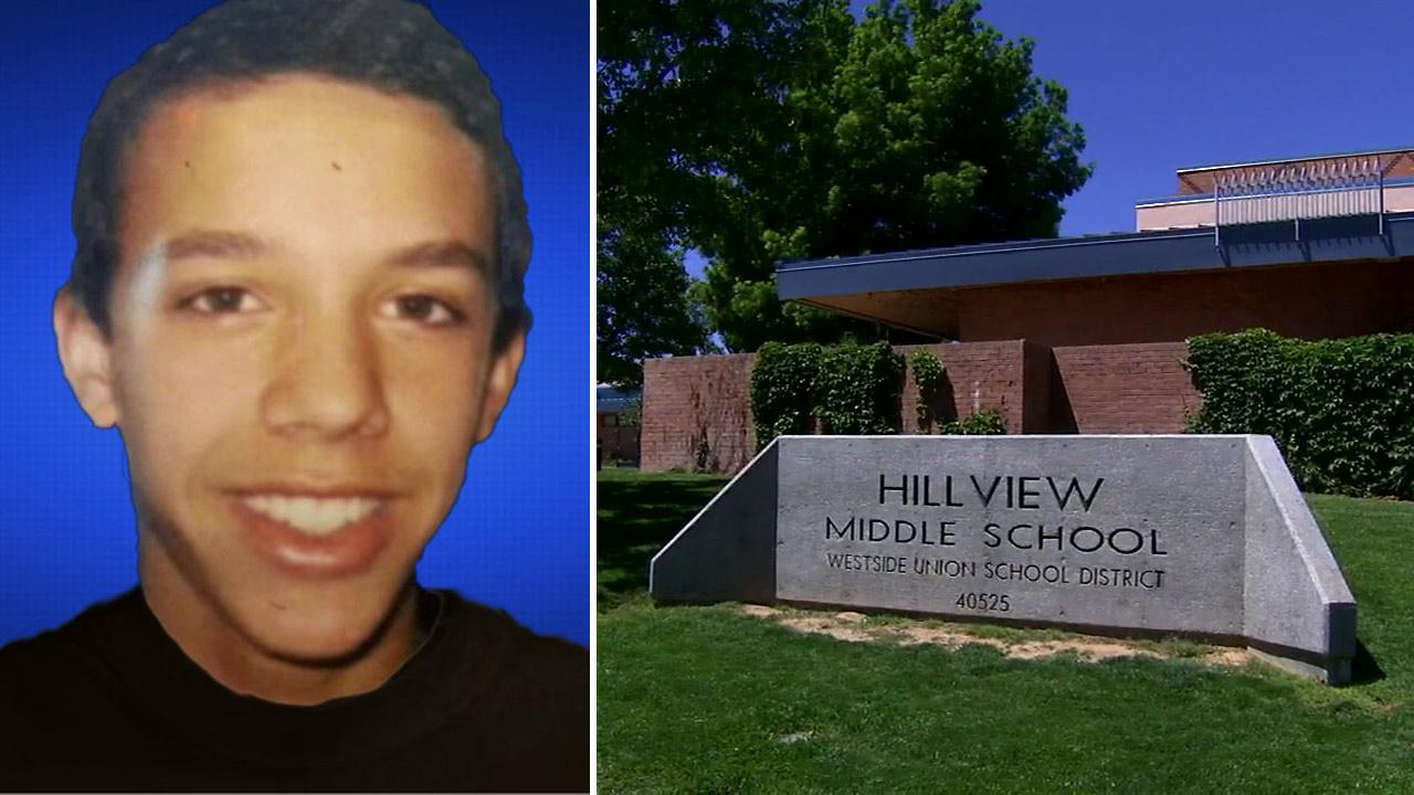Nigel Hardy, a teen who was reported missing from Palmdale, committed suicide on Monday, April 15, 2013, authorities said. The 13-year-old attended Hillview Middle School.
