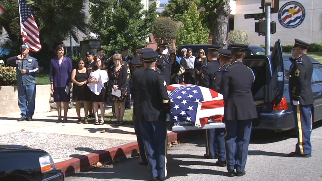 Family and friends said goodbye Wednesday, May 29, 2013, to fallen soldier William Gilbert, who was killed in Afghanistan.