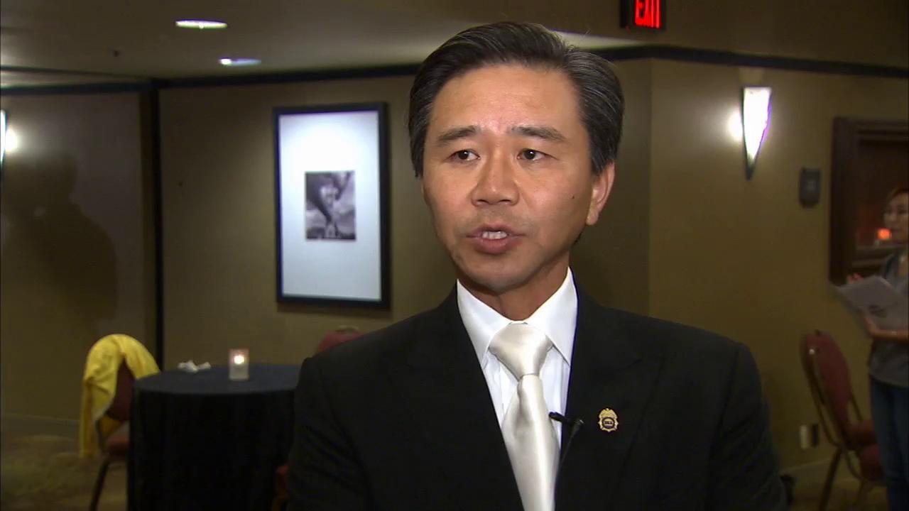 Billionaire philanthropist Walter Wang speaks to Eyewitness News on Wednesday, May 29, 2013.