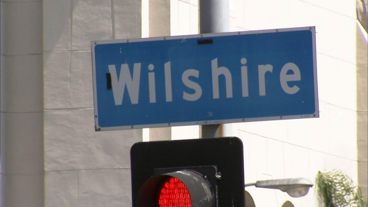 The first part of a nearly 13-mile stretch of bus only lanes expected to reduce congestion has opened on Wilshire Boulevard.